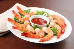 Shrimp appetizer Royalty Free Stock Image