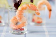 Shrimp appetizer Royalty Free Stock Photography