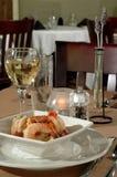 Shrimp appetizer Royalty Free Stock Photo