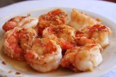 Shrimp Appetizer Royalty Free Stock Photos