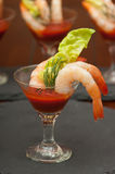 Shrimp Appetizers Stock Photos