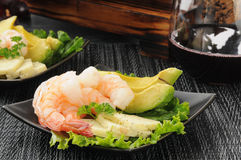 Shrimp appetizers Royalty Free Stock Photo