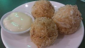 Shrimp balls Stock Image