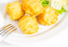 Shrimp Balls Fried Royalty Free Stock Images