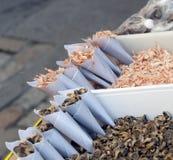 Shrimp and barnacles Royalty Free Stock Photo