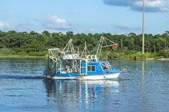 Shrimp Boat in Alabama Stock Photography