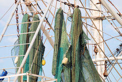 Shrimp Boat Detail royalty free stock photos