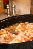 Shrimp Boil Royalty Free Stock Images