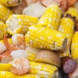 Shrimp Boil Royalty Free Stock Photos