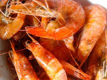 Shrimp boiled Royalty Free Stock Image