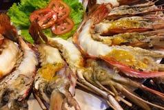 Shrimp burn processed Royalty Free Stock Images