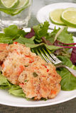 Shrimp cakes Stock Photo