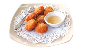 Shrimp Cakes Stock Photos