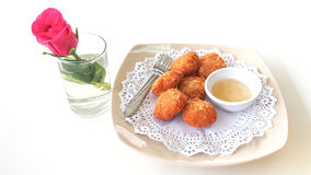 Shrimp Cakes Royalty Free Stock Image
