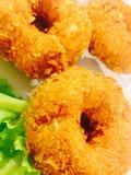 Shrimp cakes tempura Royalty Free Stock Photo