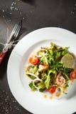 Shrimp and Calamari Salad Royalty Free Stock Photo