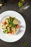 Shrimp and Calamari Salad Royalty Free Stock Photography