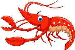 Shrimp cartoon for you design. Illustration of shrimp cartoon for you design royalty free illustration