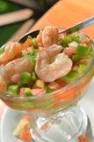 Shrimp ceviche authentic photographed  Big Corn Island Nicaragua Stock Photography