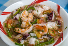 Shrimp ceviche Royalty Free Stock Images