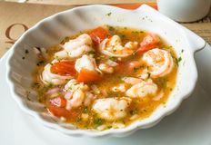 Shrimp ceviche Royalty Free Stock Photos