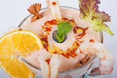 Shrimp cocktail Stock Images
