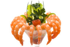Shrimp Cocktail Stock Image