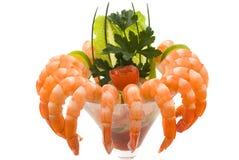 Shrimp Cocktail stock image