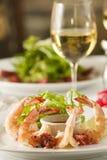 Shrimp cocktail appetizer. Stock Images