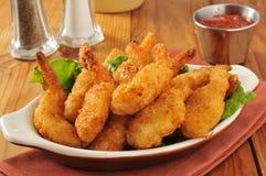 Shrimp and cocktail sauce Stock Photos