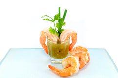 Shrimp Cocktail Stock Photography