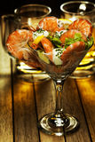 Shrimp coctail Royalty Free Stock Photos