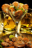 Shrimp coctail Stock Photo