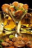 Shrimp coctail Stock Photo