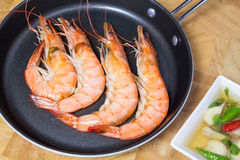 Shrimp cooked Royalty Free Stock Photos