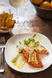 Shrimp and crab empanadas Stock Images