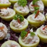 Shrimp Cream Stock Photo