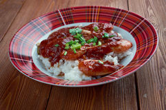Shrimp Creole Stock Photo