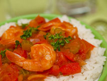 Shrimp Creole Royalty Free Stock Photography