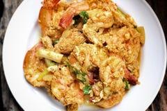 Shrimp curry. Stock Photo