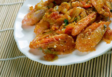 Free Shrimp DeJonghe Royalty Free Stock Image - 68444046