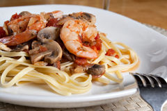 Shrimp Dinner Royalty Free Stock Images