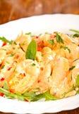 Shrimp Dish Stock Photography