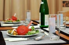 Shrimp dish. Stock Images