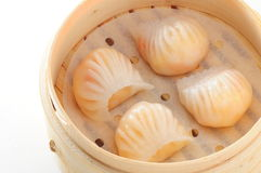Shrimp dumpling dim sum Stock Images
