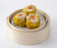 Shrimp dumplings Royalty Free Stock Images