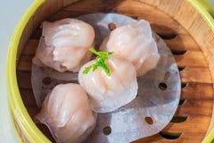 Shrimp Dumplings. Royalty Free Stock Photo
