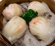 Shrimp dumplings Royalty Free Stock Photo