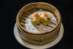 Shrimp dumplings stock photo