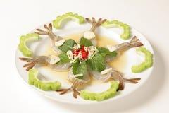 Shrimp in fish sauce stock photos